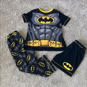 Halloween Batman costume/ pajama bundle